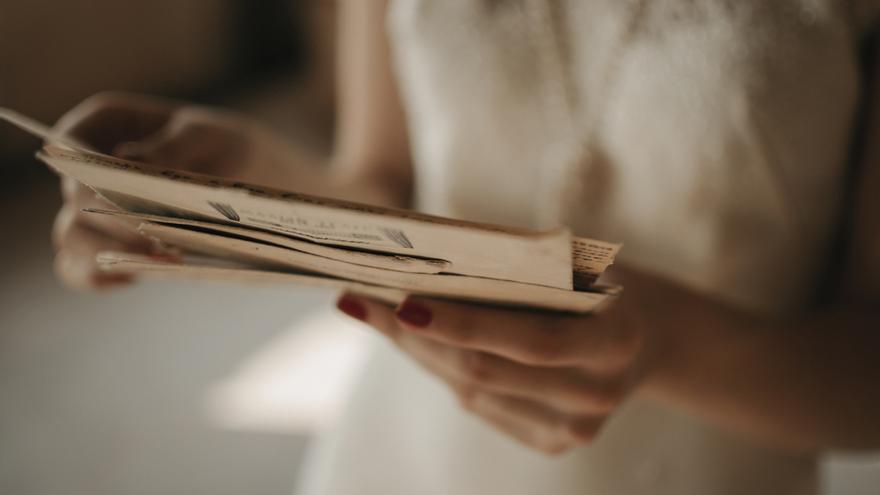 Encuentran entre residuos una carta de amor de hace medio siglo
