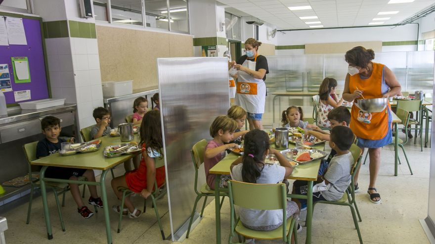 18.000 alumnos de la provincia no tendrán que pagar nada en el comedor escolar