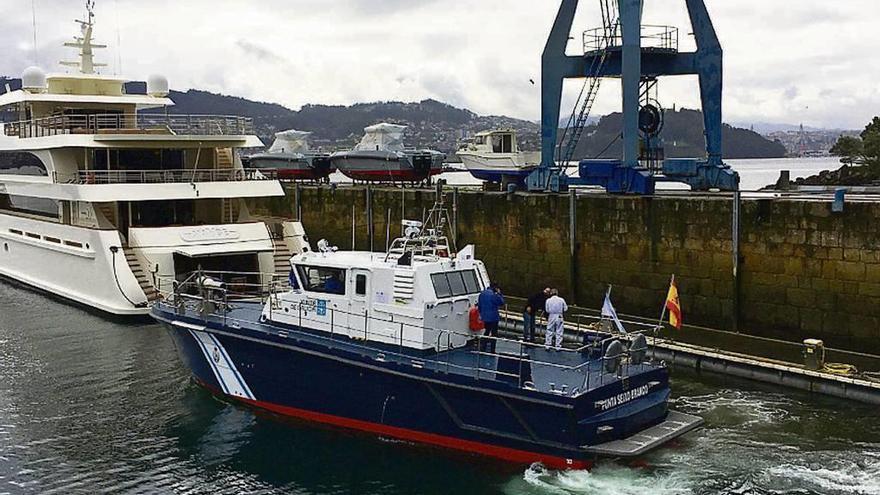 Mar baraja construir el primer barco de guardacostas con gas natural de España
