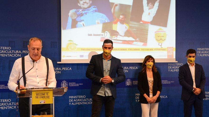 Deportistas de élite promocionarán el limón español en EEUU y Canadá