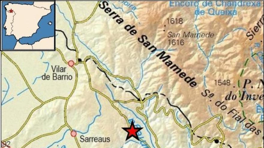 Noche de terremotos de récord en Galicia