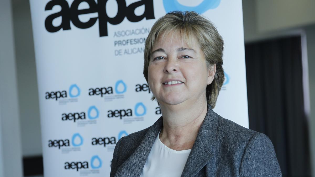 Marcela Fernández Losada, presidenta de AEPA.