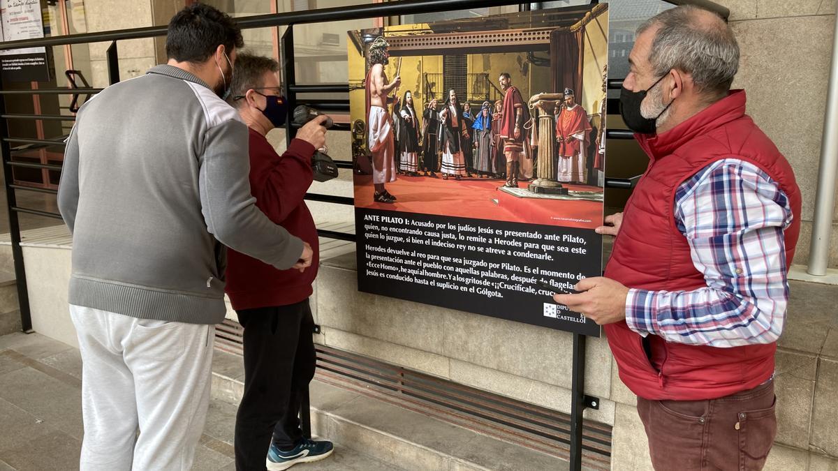 Ayer ultimaron los detalles de la exposición de fotos.