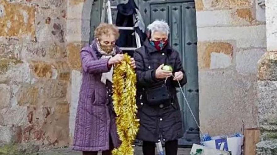 Navidad en Zamora | Tardobispo pone su toque navideño