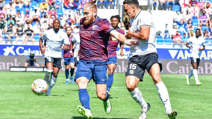 Estado de nerviosismo en el Huesca (0-0)