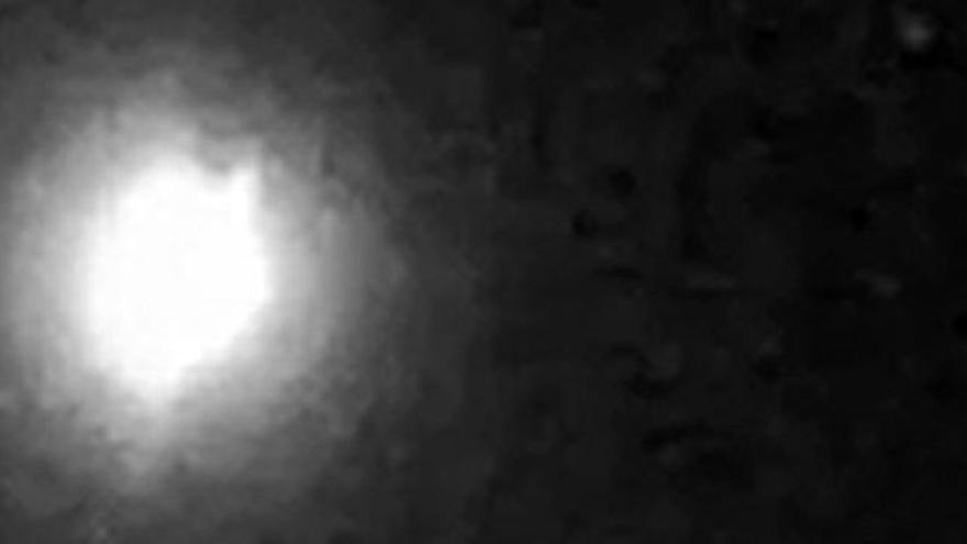 Una bola de fuego vuela sobre la península a 227.000 km/h