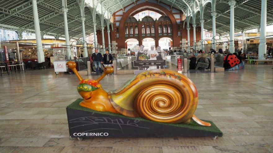El Mercado de Colón alberga la muestra  'Carakollection'  con motivo del centenario