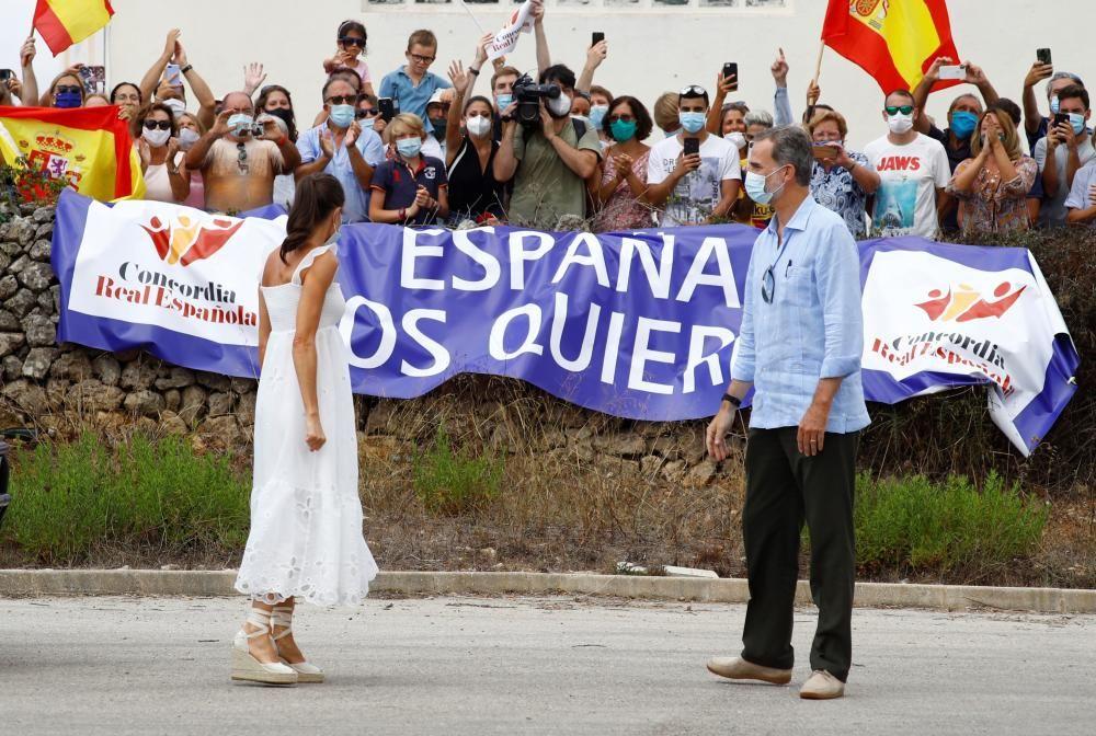 Die Könige besuchen Menorca