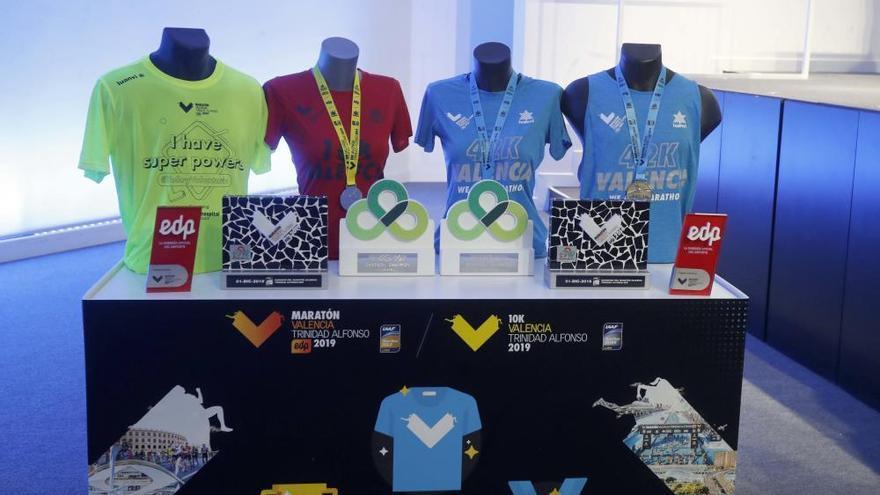 Presentación del Maratón Valencia Trinidad Alfonso 2019