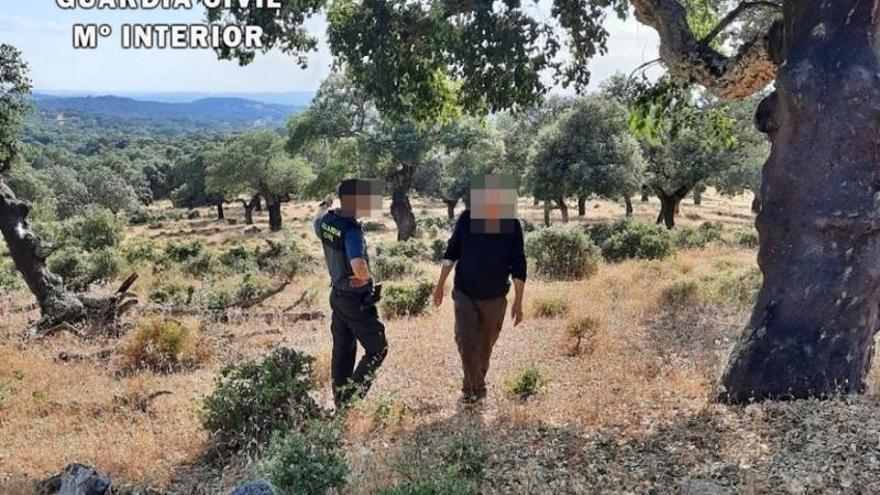 La Guardia Civil localiza al vecino de Barcarrota desaparecido desde hace 3 meses