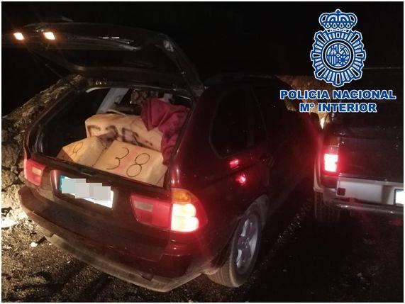 Cuatro hombres introducen 542 kilos de hachís en Lanzarote