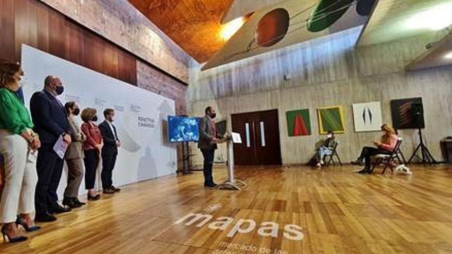 Mapas ofrece 30 obras en la  Isla y 30 conciertos en Tenerife