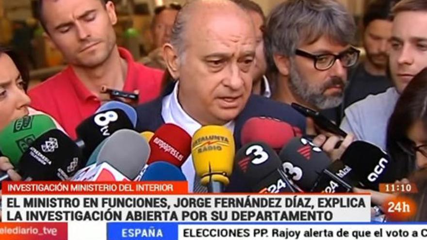 TVE defiende el tratamiento dado a las grabaciones de Fernández Díaz