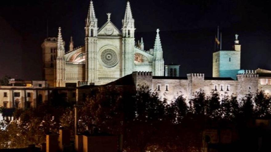 La Catedral de Mallorca se iluminará como la Torre de Londres, Notre Dame o el Coliseo romano