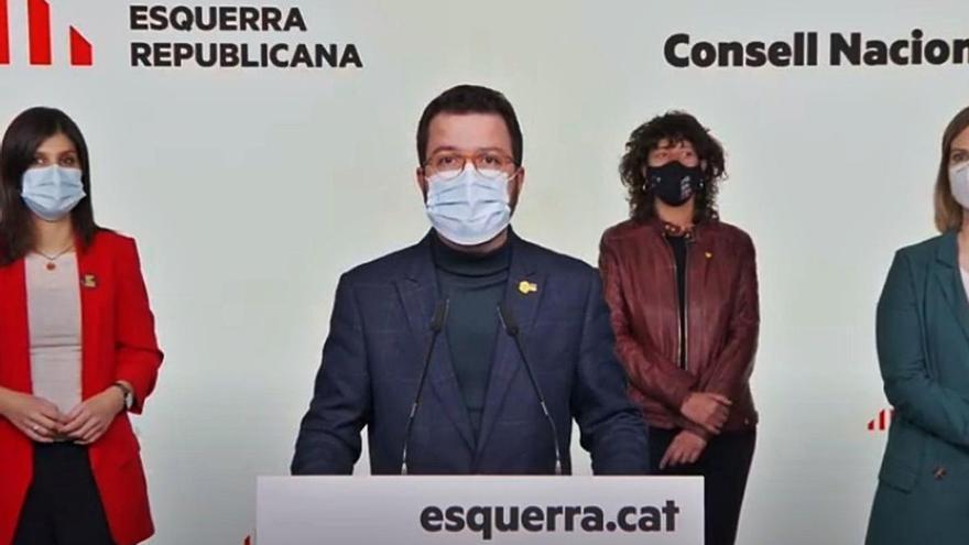 ERC tanca les llistes i es postula com la «via àmplia» cap a la independència