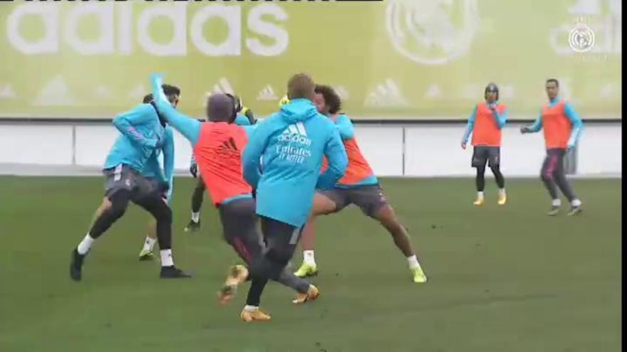 Zidane, posible baja en Pamplona