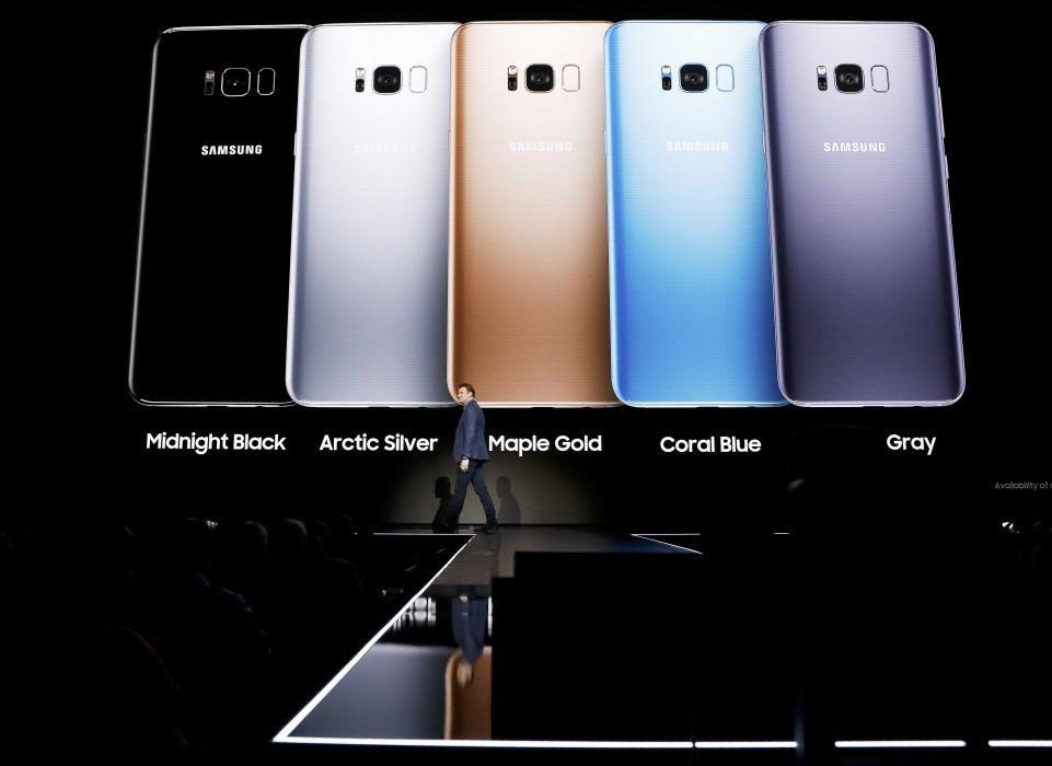 Justin Denison, Samsung senior vice president of ...