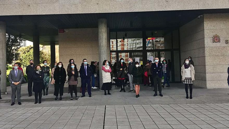 La judicatura de Vigo condena la agresión a una jueza en Segovia