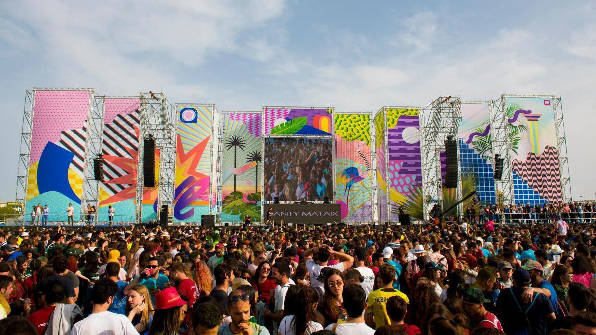 """Imagen de archivo del """"Paellas festival"""" celebrado en 2019"""