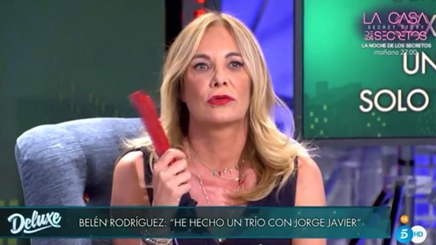 Preocupación por el estado de salud de Belén Rodríguez tras sufrir un accidente