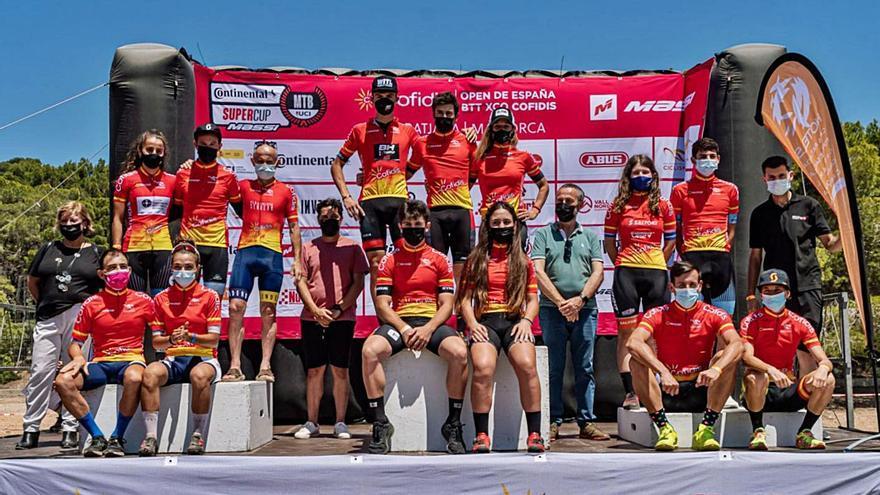 Bosque y Figueras se llevan el Open de España XCO en la categoría Elite