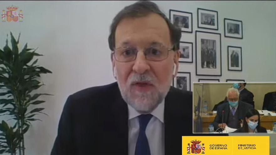 Rajoy niega la caja b, los sobresueldos y todas las acusaciones de Bárcenas