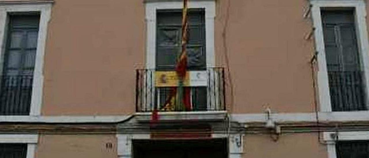 Imagen de l cuartel de Sant Joan. | CRISTINA DE MIDDEL