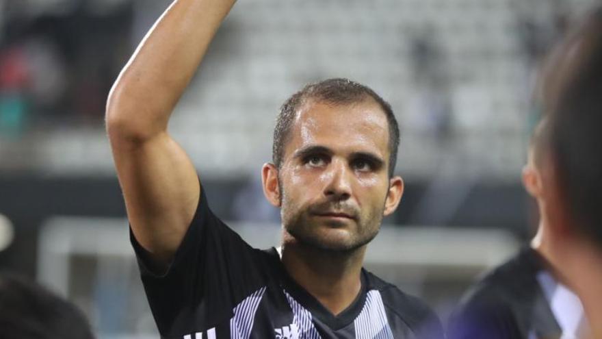 El FC Cartagena pierde a Verza para las próximas tres semanas