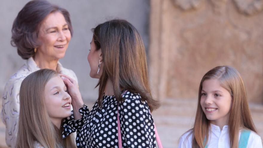 Letícia, «molt trista» després de la seva picabaralla amb la reina emèrita