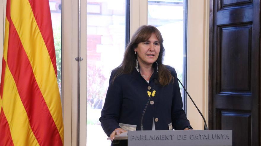 Borràs no anirà a la Zarzuela per comunicar a Felip VI la investidura d'Aragonès