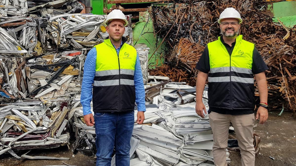 Jonathan Braceli y Roberto Cremades, director de operaciones y director industrial de Grupo Braceli