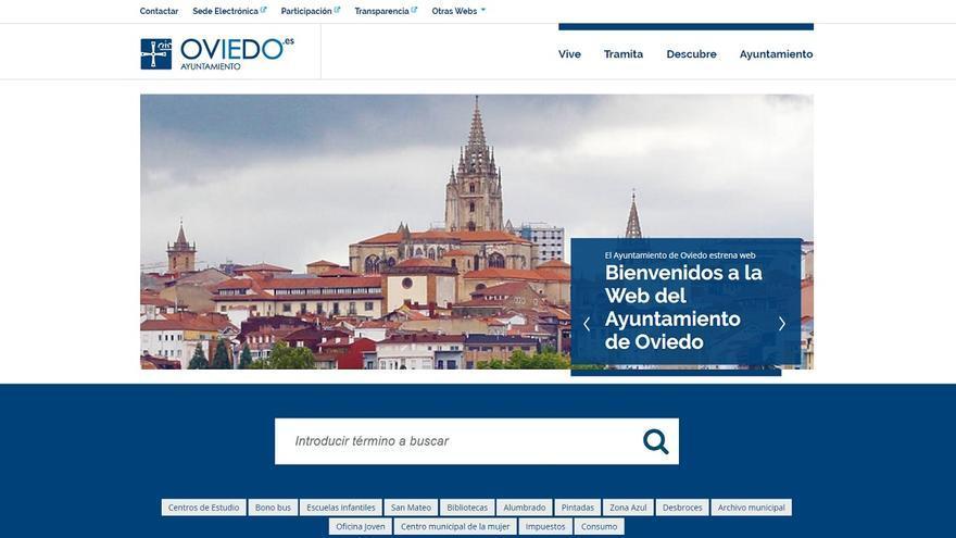 Un ciberataque tumba la página web del Ayuntamiento de Oviedo