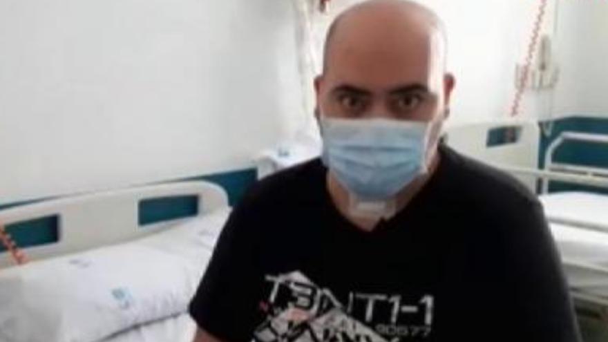 """""""Mi mujer me decía que vayas al hospital, que vayas al hospital. Gracias a eso, me salve"""""""