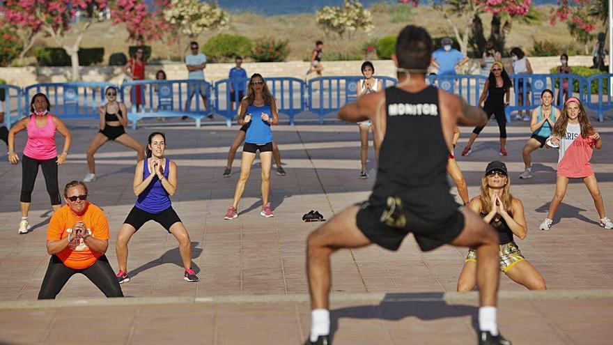 De gimnasia a  bailes latinos en Canet