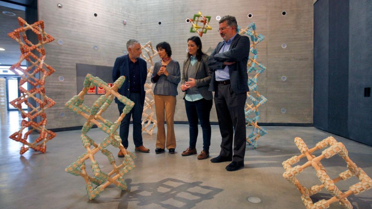 El C3A presenta una exposición que recorre media vida artística de la escultora Ana Prada
