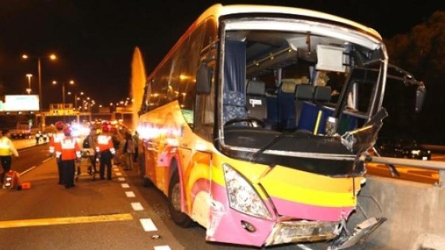 Al menos 37 muertos y 18 heridos en Camerún en un accidente de tráfico