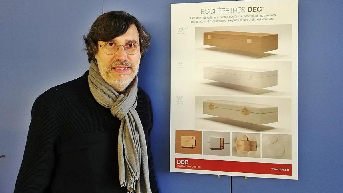 L'arquitecte manresà Jordi Garcia Vilaplana ja va crear fa una dècada l'Ecofèretre