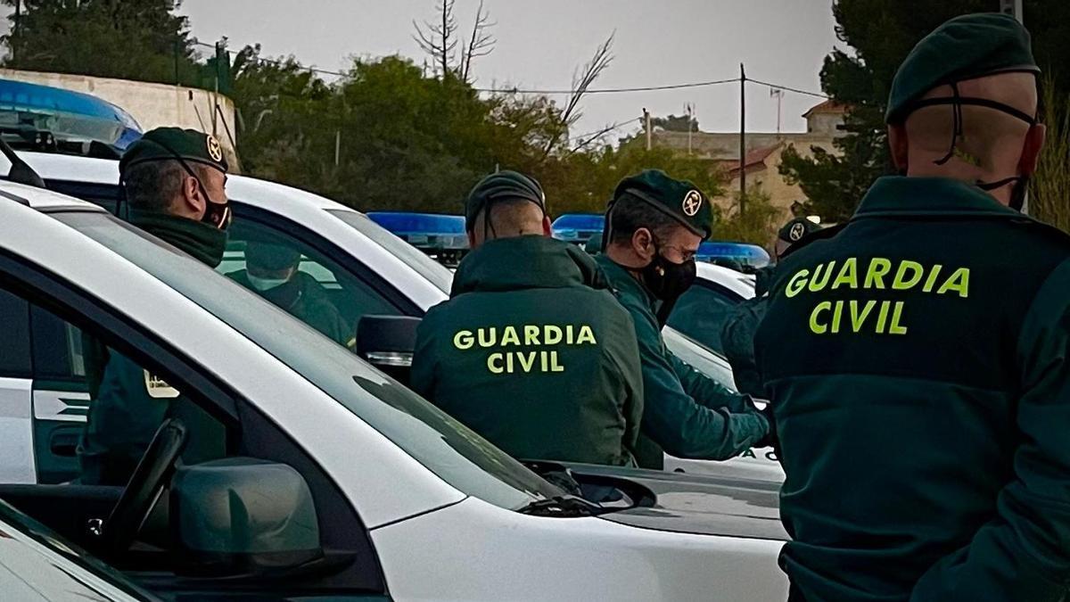 Archivo - Patrullas de la Guardia Civil