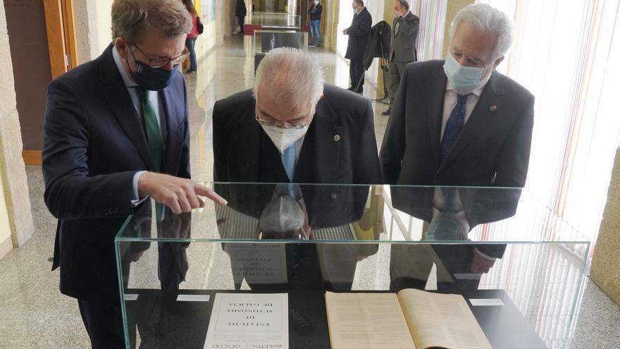 """El presidente del Tribunal Constitucional reivindica la política del """"pacto"""" que dio origen al Estatuto"""