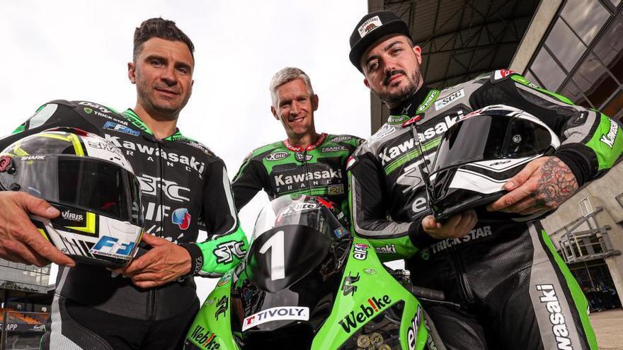David Checa seguirà aquesta temporada amb l'equip Kawasaki France