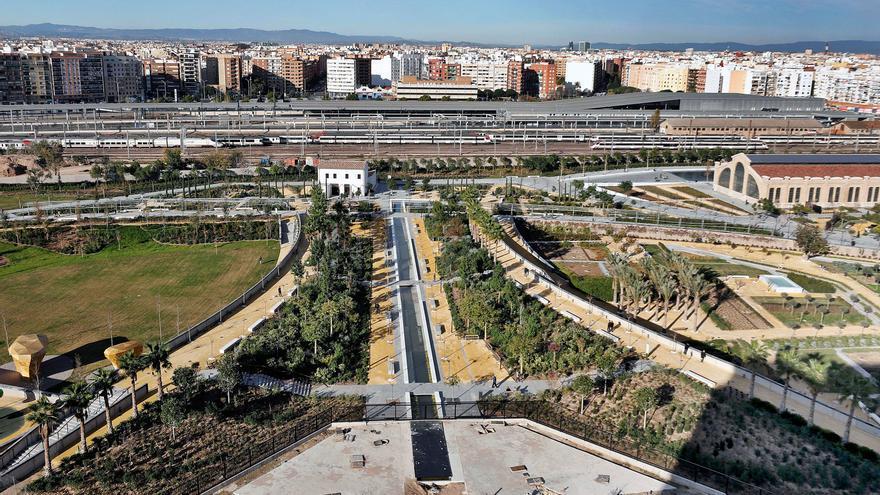 La red ferroviaria de València espera su diseño