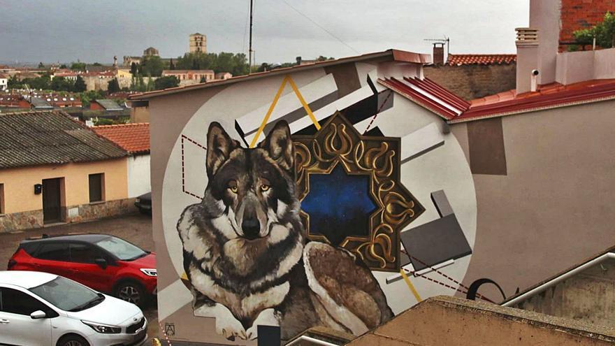 San Lázaro amplía la ruta de murales de Zamora