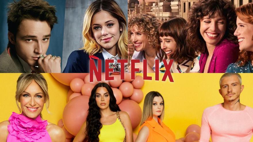 Netflix hace oficial el dating de Luján Argüelles y anuncia la renovación de 'Élite' y 'Valeria'