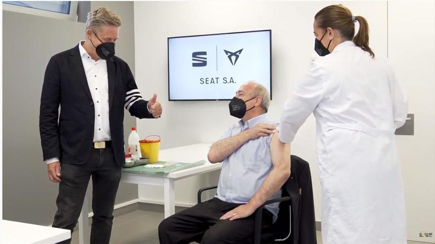 Seat ya vacuna a sus empleados