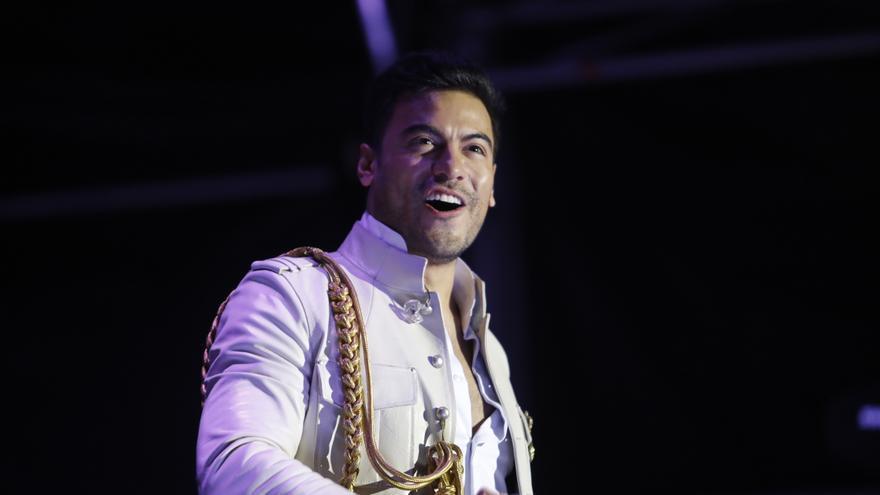 Carlos Rivera, todo corazón en el escenario de Metropoli
