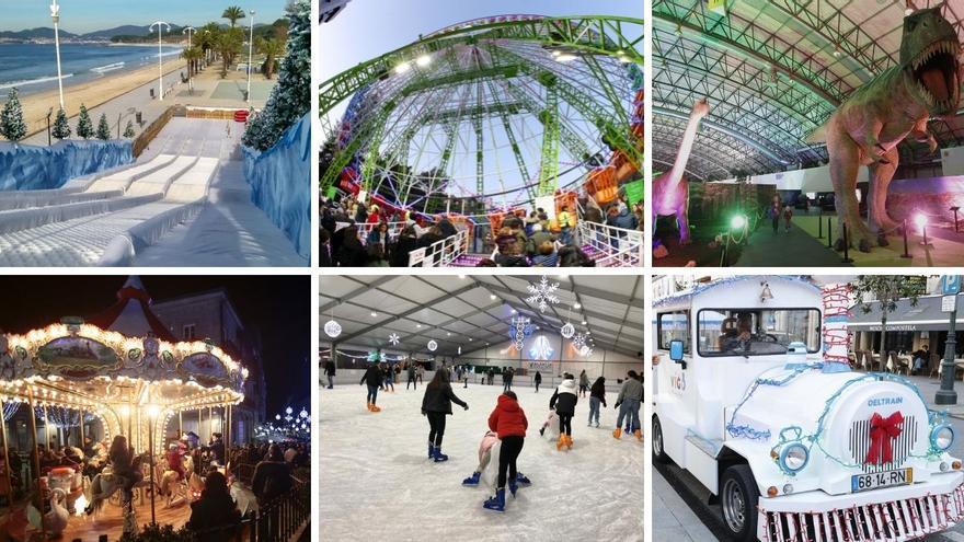 Guía completa de las atracciones de la Navidad en Vigo 2021