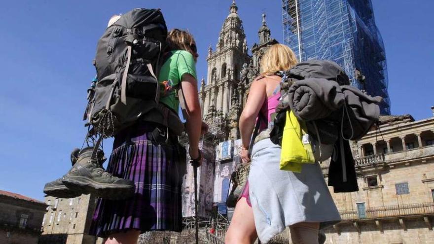 Los peregrinos que realizaron el Camino en 2015 gastaron 272 millones, un 12% más