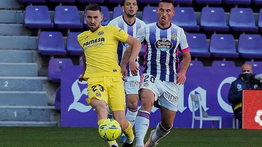 El Villarreal vence al Valladolid y se acerca a las plazas de Europa League (0-2)
