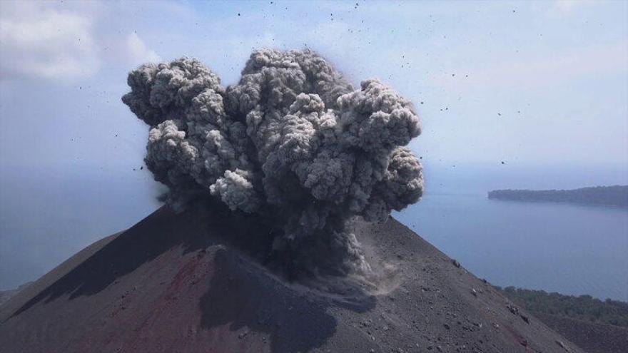 1883: El desastre del volcán Krakatoa que benefició al sureste español
