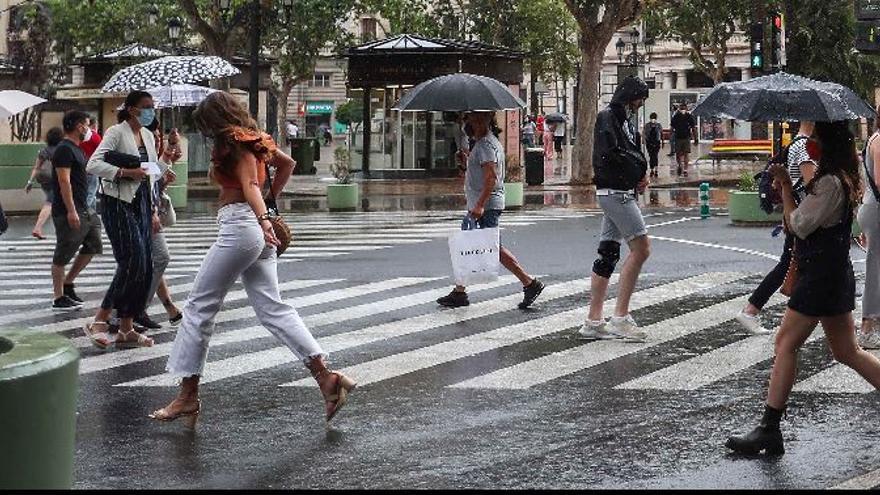 Aemet alerta de lluvias en los próximos días de la semana